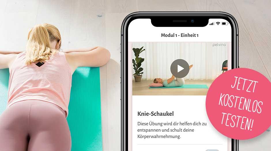 Entspanne deinen Beckenboden per App