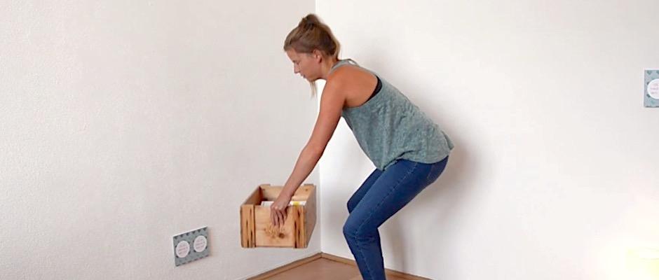 Es gibt tolle Beckenbodenübungen, die man im Alltag machen kann