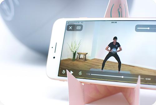 pelvina ist ein Beckenbodenkurs per Smartphone
