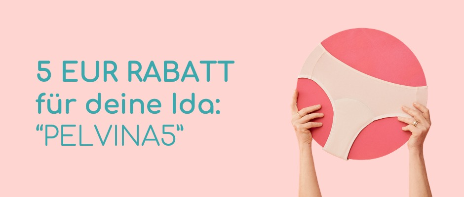 5 Euro Rabatt für eine Ida im Shop von Ida's Place - Code PELVINA5