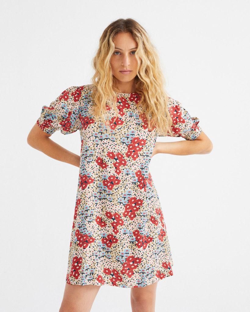 Blasenschwäche Modetipp geblümtes Kleid