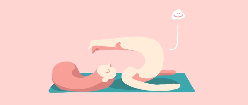 Queefing beim Sport, z. B. beim Yoga, kann peinlich sein, ist aber natürlich